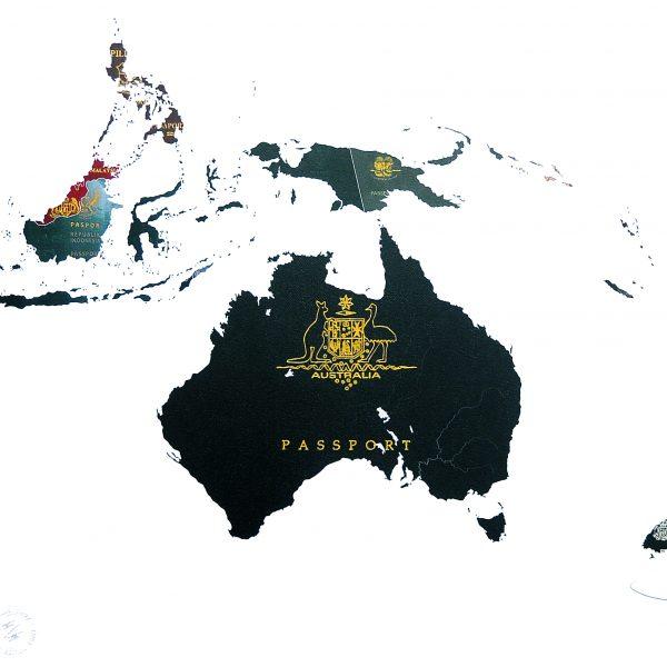 AUSTRALASIA Archival print - Yanko Tihov
