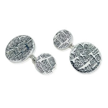 Chain cufflinks – St Andrews Collection - Dominic Walmsley