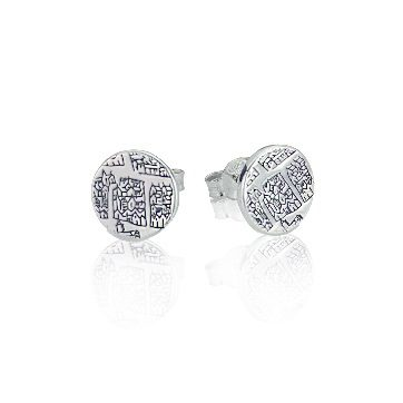 Sterling silver small earrings - Dominic Walmsley