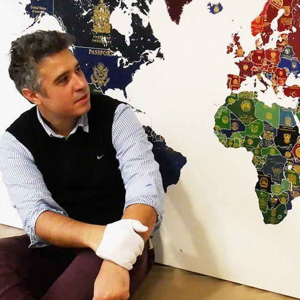 World Passport Map by Yanko Tihov