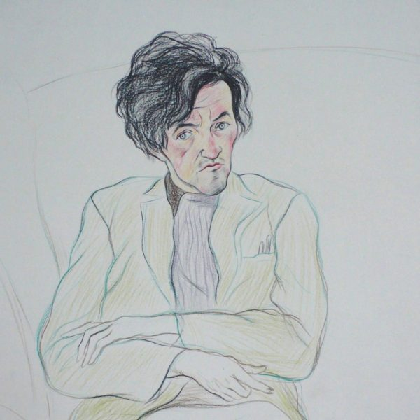 George Mackay Brown - Alexander Moffat OBE RSA