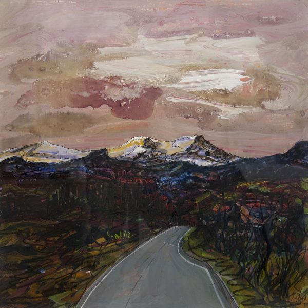 Approaching Portree - Ruth Nicol