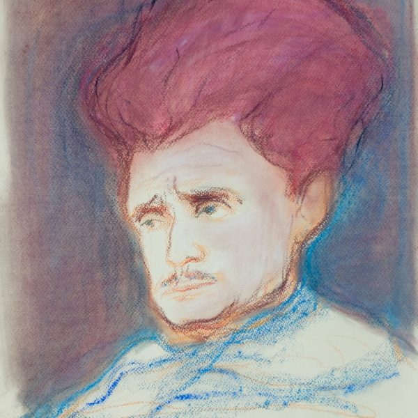 Portrait of Hugh MacDiarmid - Alexander Moffat OBE RSA