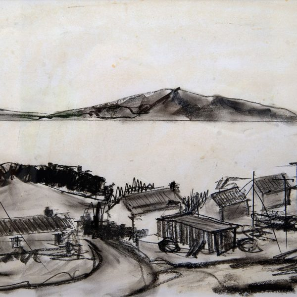 Osgaig Raasay Sketch - Ruth Nicol