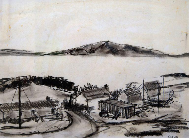 Osgaig Raasay Sketch - Ruth Nicol