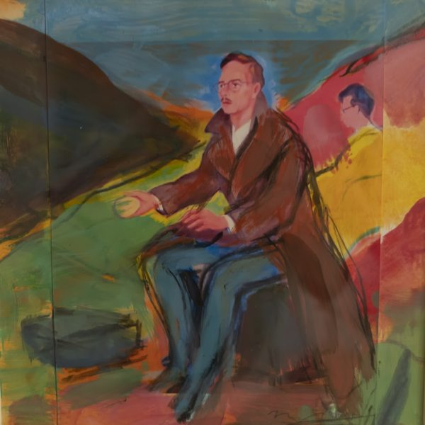 Study for Scotland's Voices - Alexander Moffat OBE RSA