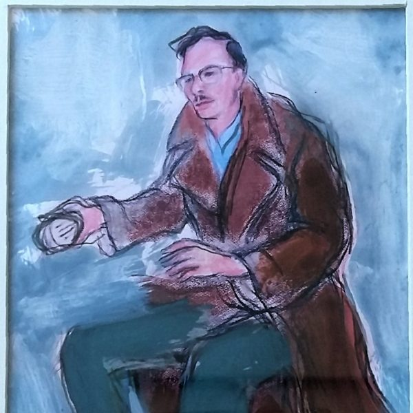 HAMISH HENDERSON – Small study for Scotland's Voices - Alexander Moffat OBE RSA