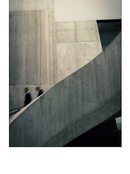 Stairs at Tate Modern - Alistair Macnaughton