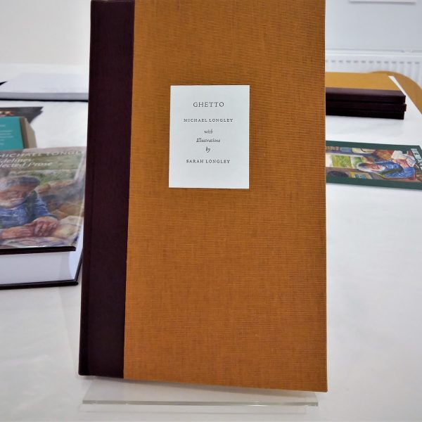 GHETTO  limited edition cloth bound book - Sarah Longley