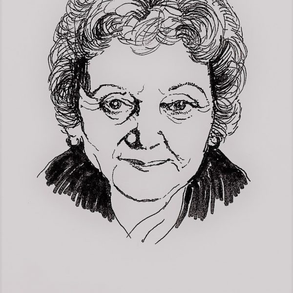 Portrait of Helen Lewis - Sarah Longley