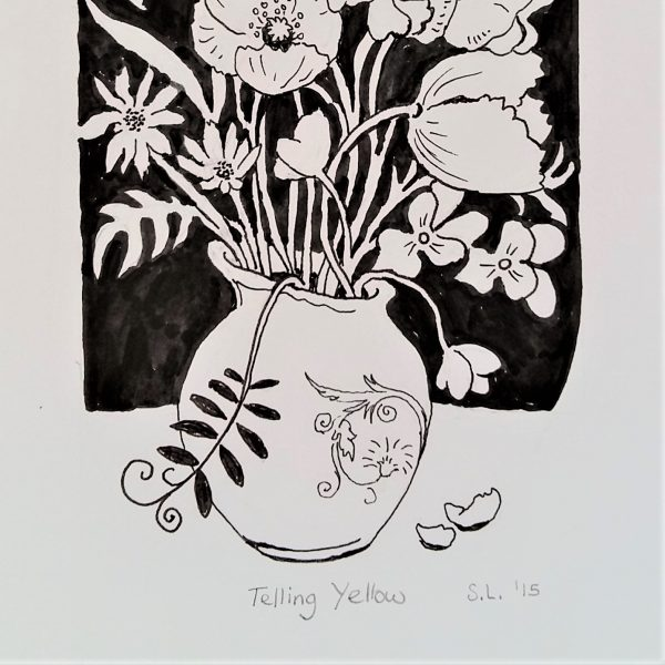 Telling Yellow - Sarah Longley