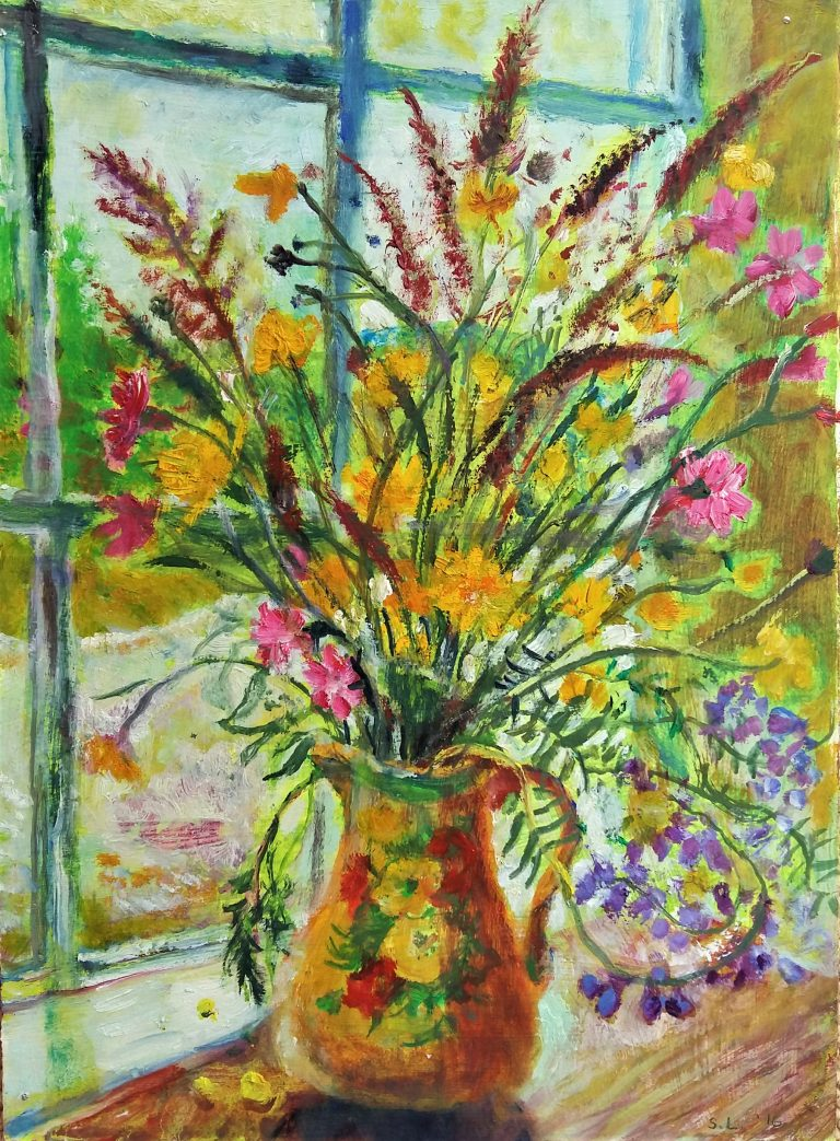 Flowers and Grasses - Sarah Longley