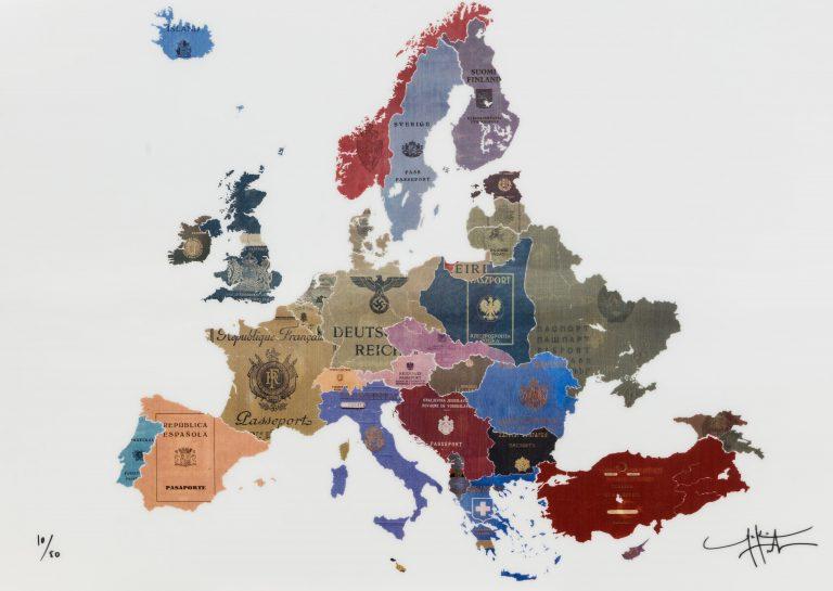 Europe 1930s – Contemporary Europe  lenticular print - Yanko Tihov