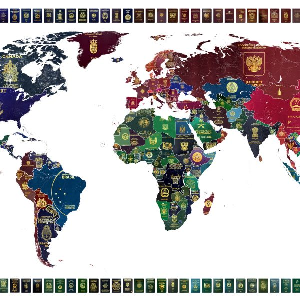 World Passport Map - Yanko Tihov