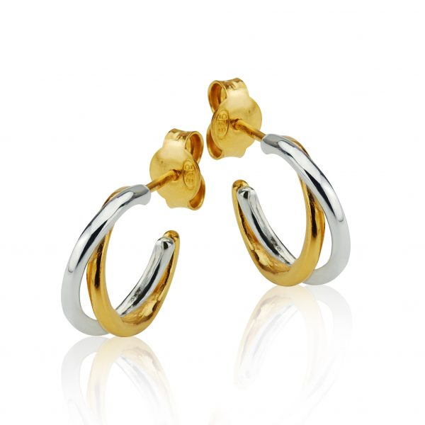 CONJUNCTUS SEMPER HOOP EARRINGS - Dominic Walmsley