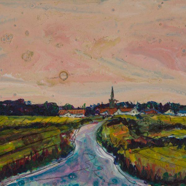 Approaching Kingsbarns - Ruth Nicol