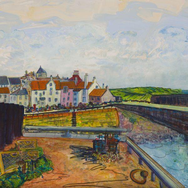 Pittenweem Harbour - Ruth Nicol