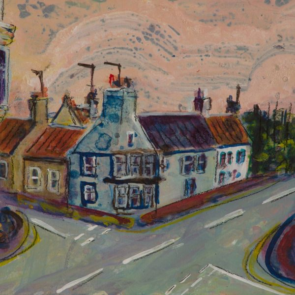 Elie High Street - Ruth Nicol