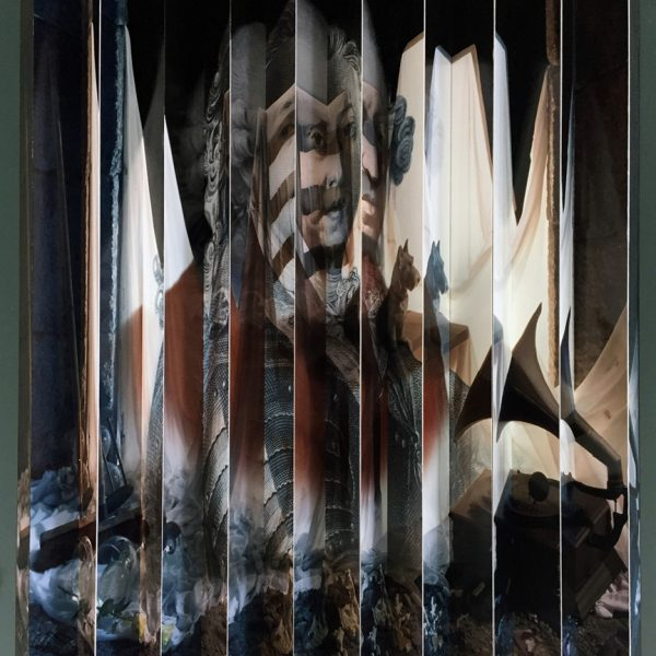 Lochaber No More II  (Anamorphosis) - Calum Colvin OBE RSA