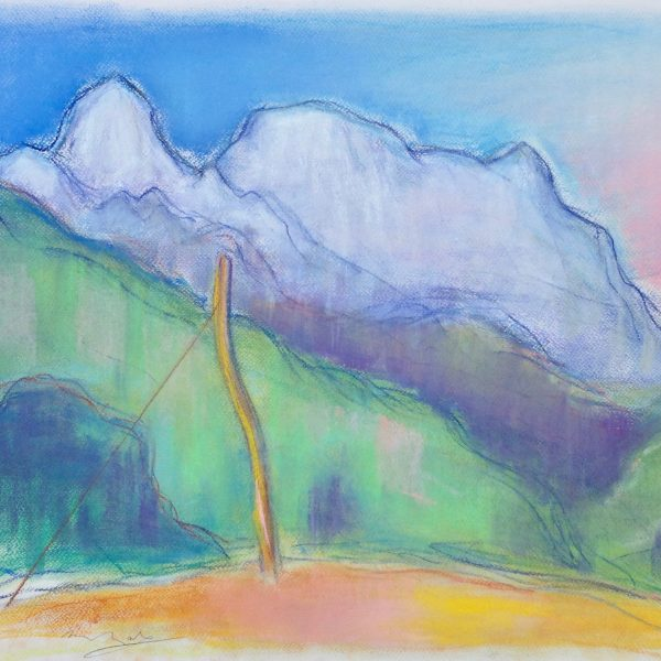 The Apuan Alps  III - Alexander Moffat OBE RSA