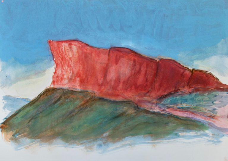 The Crags (Radical Road)  IV - Alexander Moffat OBE RSA