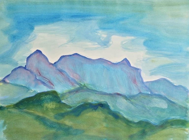 Apuan Alps XI - Alexander Moffat OBE RSA