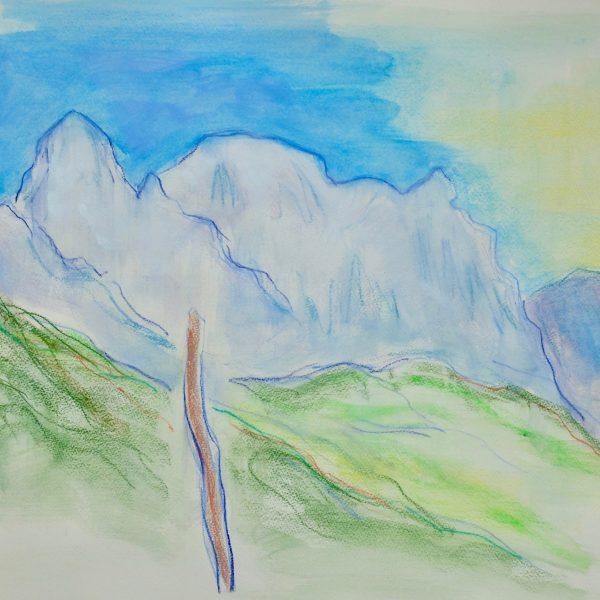 The Apuan Alps  XIX - Alexander Moffat OBE RSA