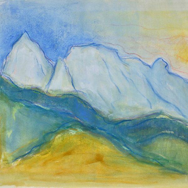 The Apuan Alps  VII - Alexander Moffat OBE RSA