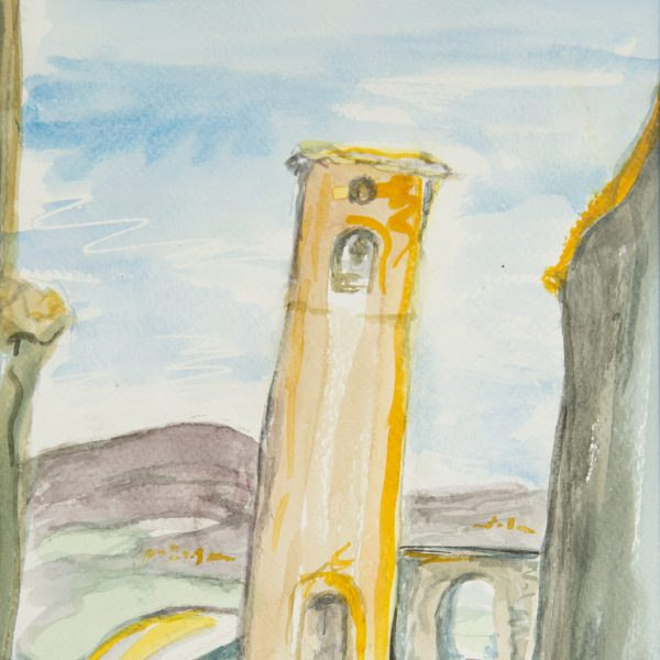 Campanile Bargecchia - Helen Bellany