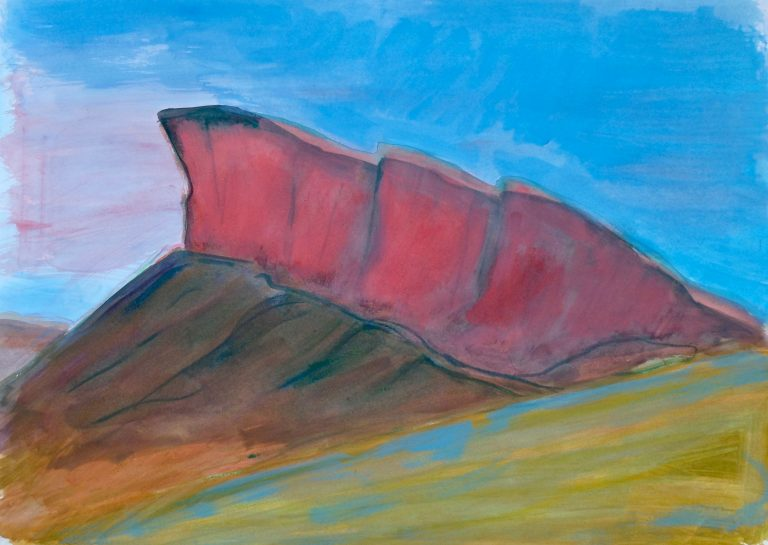 The Crags (Radical Road)  VIII - Alexander Moffat OBE RSA