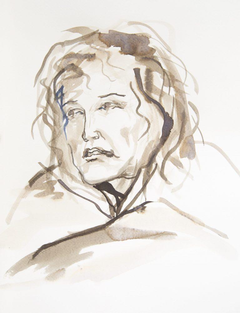 Self Portrait - Helen Bellany