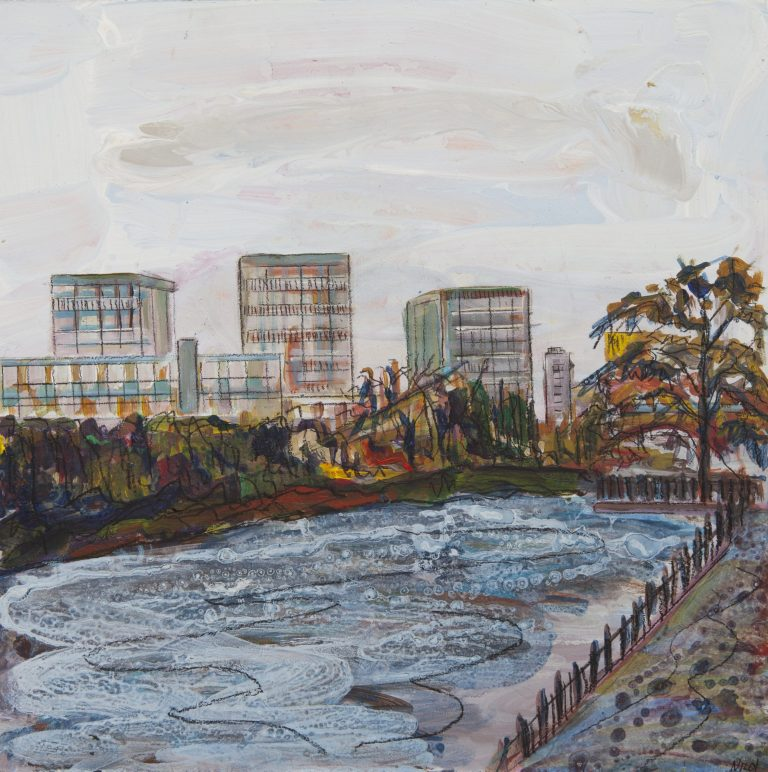 THE GORBALS FROM GLASGOW GREEN - Ruth Nicol